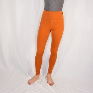 GIRLFRIEND COLLECTION Toasted Apricot Leggings